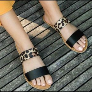 Shoes - Leopard Print Flats🐆🥿